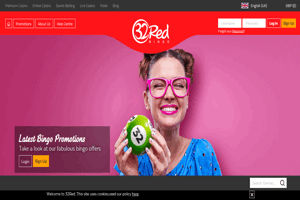 32Red Bingo website homepage