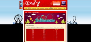 32red Bingo promotional page screenshot