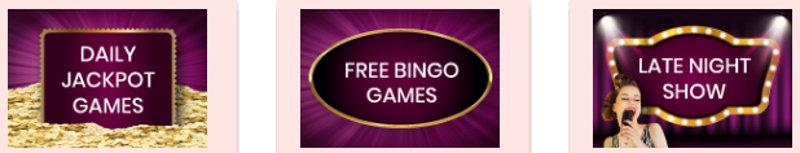 888 bingo games screenshot