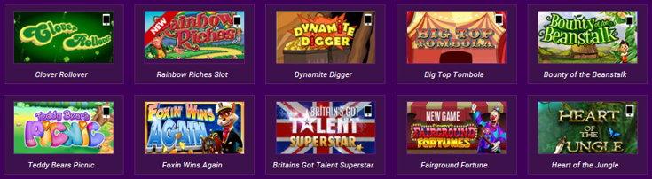 Ladbrokes Bingo slots screenshot