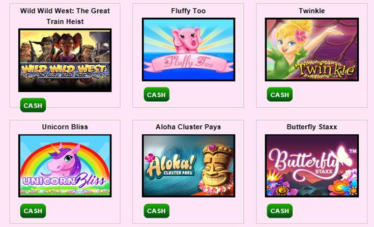 Scrummy Bingo slots games screenshot