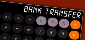 bank transfer calculator screenshot