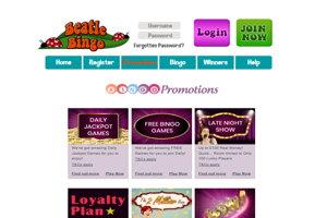 beatle bingo website screenshot