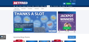betfred bingo website screenshot
