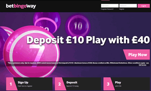 Betway Bingo website homepage