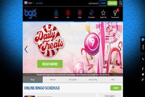 bgo bingo website screenshot