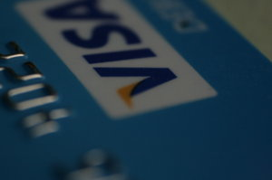 blue visa card screenshot