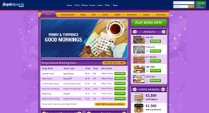 BoyleSports Bingo website homepage