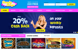 Dandy Bingo website homepage