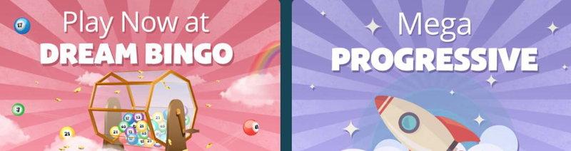 dream bingo promo screenshot