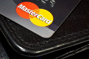 mastercard and wallet screenshot