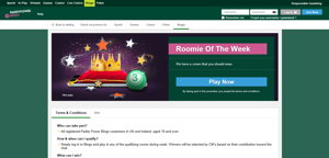 paddy power promo page
