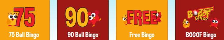 BOGOF Bingo variants screenshot