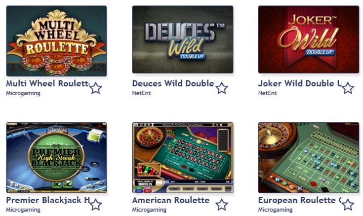 Bingocams casino games screenshot