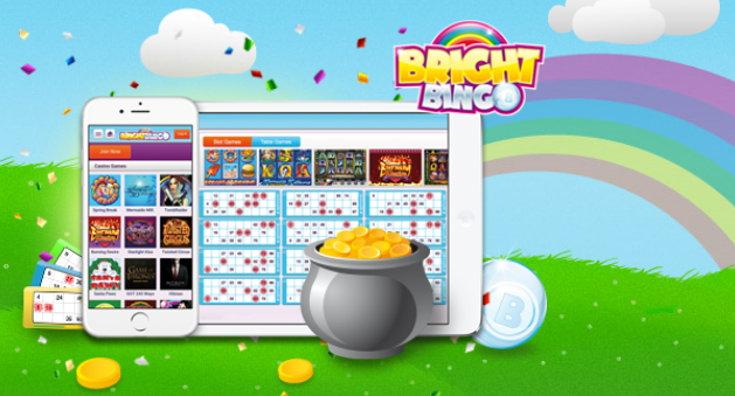 Bright Bingo games screenshot