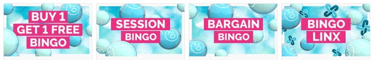 Fabulous Bingo games screenshot