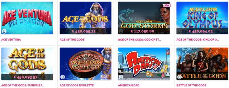 Fabulous Bingo slots screenshots