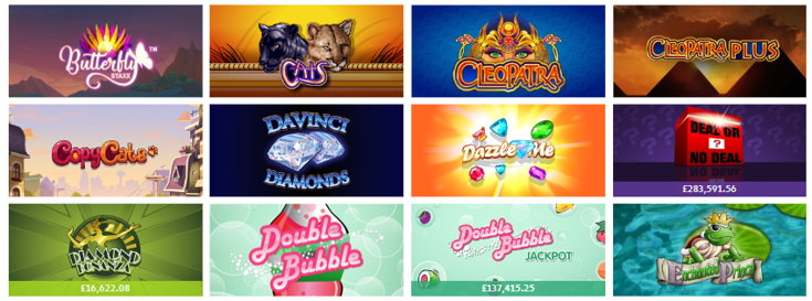 Jackpot Joy slots games screenshot