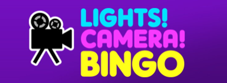 Lights Camera Bingo logo screenshot