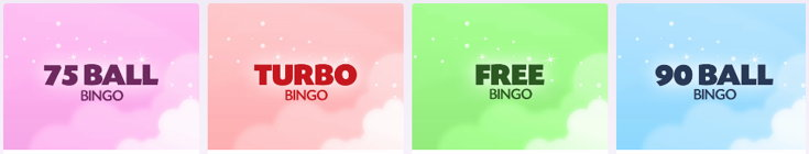 Lucky Pants Bingo variants screenshot