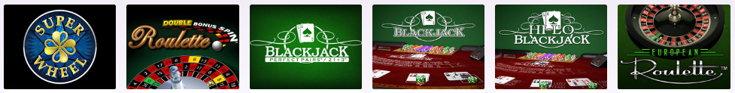 Lucky Pants Bingo casino games screenshot