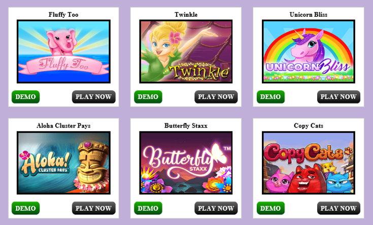 Vampire Bingo slots games screenshot