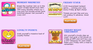 Zingo Bingo promotional page screenshot