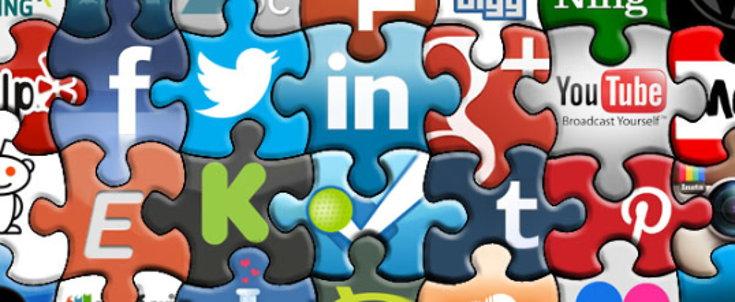 social media jigsaw screenshot