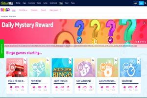 william hill bingo homepage screenshot