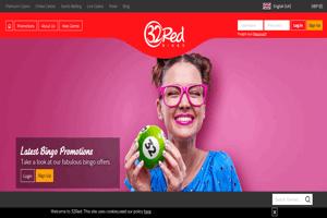 32Red Bingo website homepage screenshot