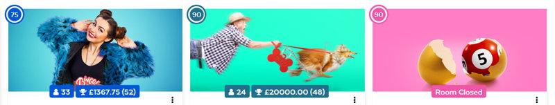 32red bingo promo screenshot