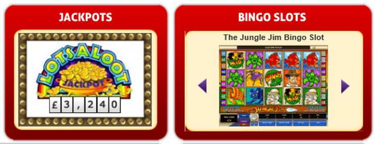 32red Bingo slots screenshot