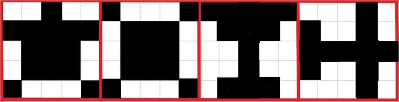 75 Ball Bingo Patterns