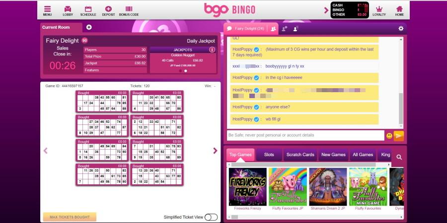 BGO screen grab