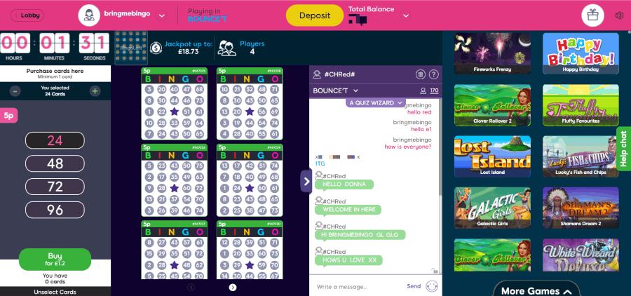 Bucky Bingo screengrab