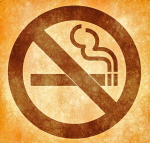 No smoking logo screenshot