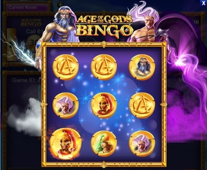 Age of the Gods Bingo Arena of the Gods