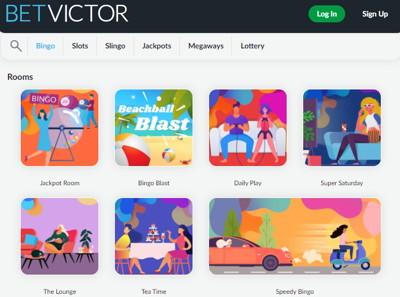 betvictor bingo games