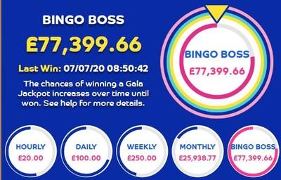 Bingo Boss Jackpot