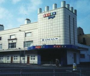 bingo hall former cinema art deco