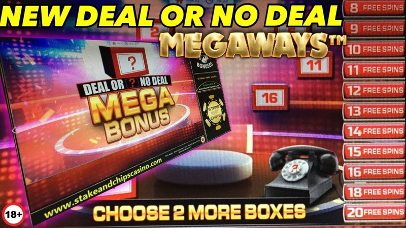 blueprint gaming deal or no deal