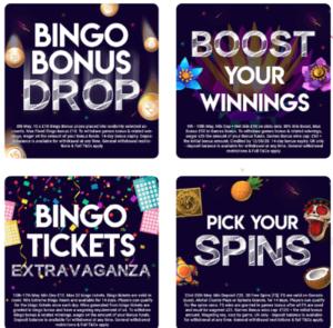 bucky bingo promos