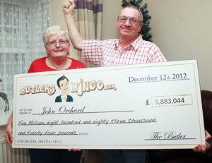 Butlers bingo jackpot winner family screenshot