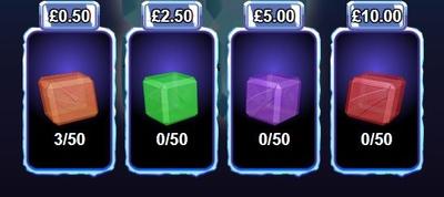 Cash Cubes Payout