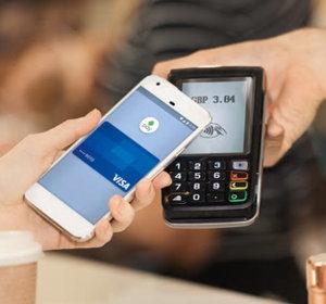 contactless visa payment screenshot