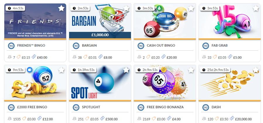 coral bingo games