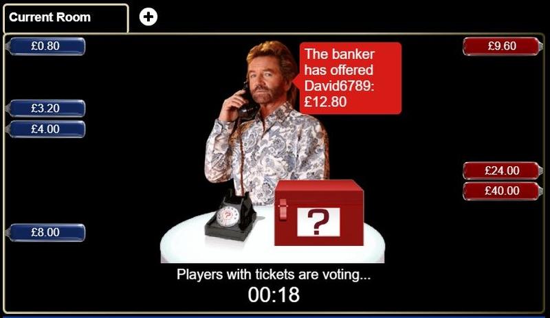 Deal or No Deal Bingo Bankers Offer