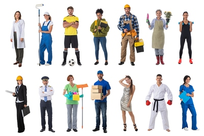 Bingo Players with Different Jobs