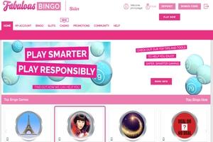 Fabulous Bingo Homepage