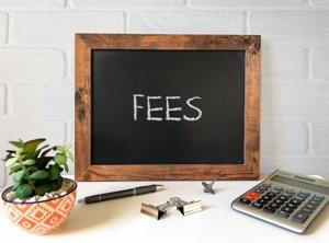 fees screenshot